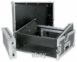 Citronic 19 Combo Flightcase Rack 2U + 8U for DJ Disco mixer Amp Amplifier