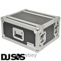 Citronic Rack4s 19'' 4u Shallow Flightcase Pa Dj Equipment Rack Case 171.426uk