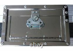 Coffin 2x Denon SC5000 & X1800 Prime Swan Flight Case DJ Mixer coffin (Hex)