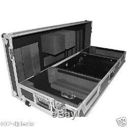 Coffin Case 2 Large CD 19 10u Rack Mount Mixer Road Flight Ready Turntable Cdj