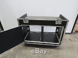 Combo Rack Mixer Top Road Case Rock Hard Cases