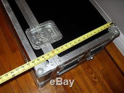 DJ Coffin Case Travel Box for Turntables, Mixer or any Rack Mounted Equipment