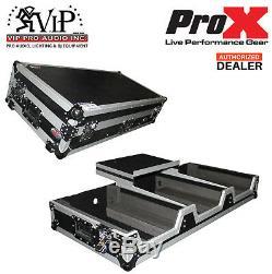 DJ Coffin Case for Pioneer Mixer DJM900 & 2X CDJ2000NXS2 WithWheels & Laptop Shelf