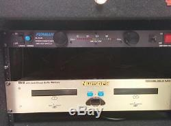 DJ Equipment Bundle Gemini, Furman, Numark. Rack, Mixer, Conditioner, CDPlayer