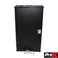 DJ Z-Style Portable Folding Mixer Table All in One ATA Road Case Black on Black