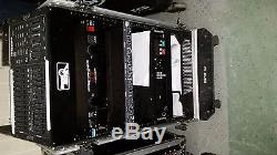 DJ mixer/equip rack