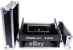 Deejayled TBHM802E 8u Slant Mixer Rack 2u Vert