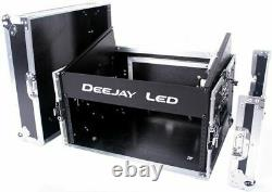 Deejayled TBHM804E 8u Slant Mixer Rack 4u Vertica
