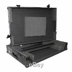 Denon Dj Mcx8000 Black Road Ready Dj Hard Flight Case Glide Shelf Xs-mcx8000wbl