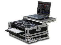 Denon Mc3000 / Mc6000/ Mc6000mk2 Dj Controller Glide Style Case With Bottom