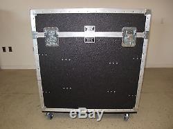 Dual 16ru Mixer Top Rack Custom Road Cases Made in USA