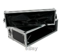 Elite Core 3 Space 10 Deep ATA Effects/Wireless Systems Rack Road Case/Lid Bags