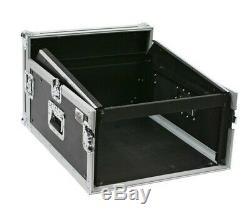 Elite Core Osp Mc12u-4 4 Space Ata Mixer/amp Rack 12 Space Deep On Top Slant