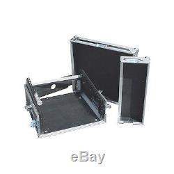Eurolite 10x2 Mixer/Amp Combo Rack Case 10 X 2 U