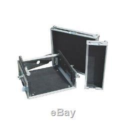 Eurolite 10x4 Mixer/Amp Combo Rack Case 10 X 4 U