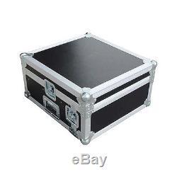 Eurolite 10x4 Mixer/Amp Combo Rack Case 10X4 U