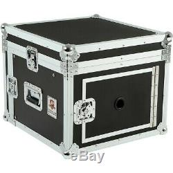 Eurolite 10x6 Mixer/Amp Combo Rack Case 10 X 6 U