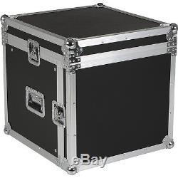 Eurolite 10x8 Mixer/Amp Combo Rack Case 10X8 U