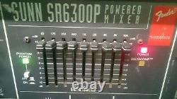 Fender SUNN SR6300P powered mixer