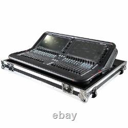 Fits Allen & Heath AVANTIS Digital Mixer Console Flight Case w Low Profile W