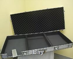 Flightcase-Konsole DIGI-2 für 1x 12 MIXER + 2x CD-PLAYER Konsolencase DJ-Case