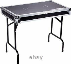 Fly Drive Case Universal Fold Out DJ Table 36-Width x 21-Depth x 30-Inches He