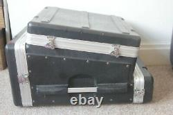 Gator ABS Flight Case For Mixing Console & Amps etc 10U Top 2U Front 6U Rear