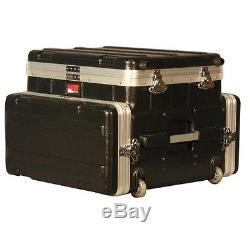 Gator ATA Laptop or Mixer Case Over 4U Audio Rack (GRC-STUDIO4GO-W)