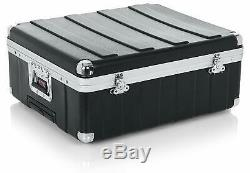 Gator Cases ATA Molded Pop-Up Mixer Case with Wheels and Pull Handle New