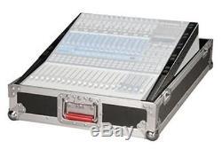Gator Cases G-TOUR-SLMX14,14U Slant Top Mixer Case with Fixed Rail