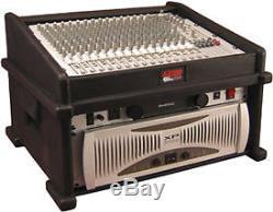 Gator Cases GDJ-8X4 DJ Rack Case (8 Space Top, 4 Space Bottom)