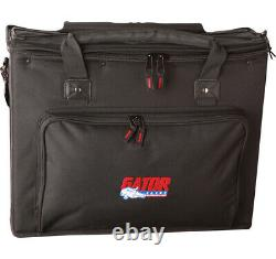 Gator Cases GRB-4U Pro Audio Console Rack Bag Portable With Padded Straps New