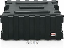 Gator Cases Pro Series 4U, 19 Deep Molded Audio Rack, Black New