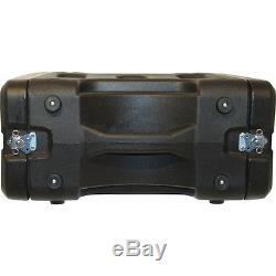 Gator G-PRO-6U-19 U. S. Made Roto Mold Rack Case 6RU