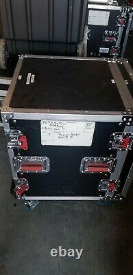 Gator G-TOUR 14U CAST ATA Wood Rack Case with Casters