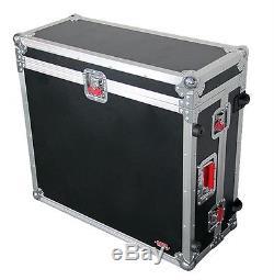 Gator G-TOUR X32CMPCTW Behringer X-32 Compact mixer Flight Case Handle & Wheels