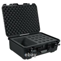 Gator GM16MICWP Black waterproof injection molded case with foam