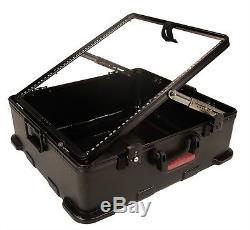 Gator GMIX-12PU-TSA ATA Molded Pop-Up Mixer Board Case 12-Space (12U) TSA Latch