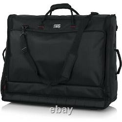 Gator GMIXERBAG2621 Padded Nylon Carry Bag 4 Large Format Mixers 26 X 21X 8.5