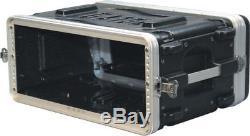 Gator GR-4S Audio Rack Shallow 4 Space UPC 716408501345