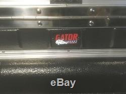Gator GRC-10X8 10U Top, 8U Side Console Audio Rack (NEW) Multiple audio