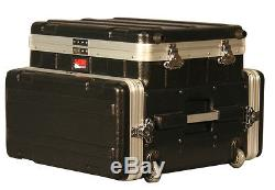 Gator GRC-STUDIO4GO-W ATA Laptop or Mixer Case Over 4U Audio Rack