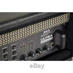 Gator Retro Rack Series GR-RETRORACK-3BK Vintage Amp Vibe Rack Case, 3U Black