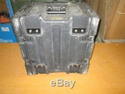 Hardigg Pelican ProRack Rackmount 06U x16 Harris MANPACK Multi Mount Plate V1