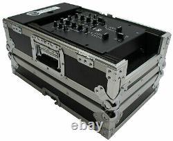 Harmony Cases HC10MIX Flight DJ Road Travel 10 Mixer Custom Case fits Numark M2