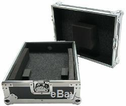 Harmony Cases HC12MIX Flight DJ Road Travel Foam Custom Case fits Numark M6