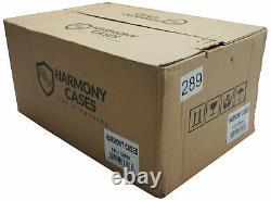 Harmony HC10MIX Flight DJ Road Travel 10 Mixer Custom Case fits Traktor Z2