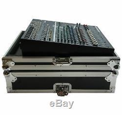 Harmony HC5014 Flight Transport Road Custom Case for Yamaha EMX5016CF Mixer