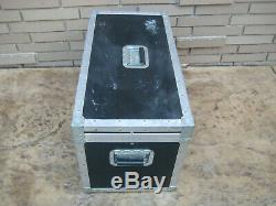 Large Heavy Duty Anvil Forge II Flight Travel Audio Band Industrial Road Case