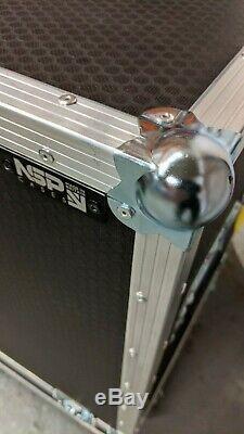 Large Storage/Speaker Flight Case with Castors EX DEMO #525